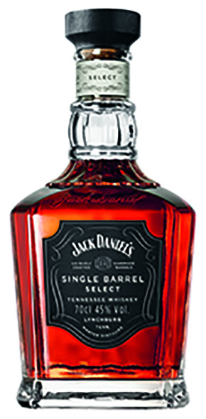 Jack Daniel's single Barrel select Whiskey 45% Vol. 70cl