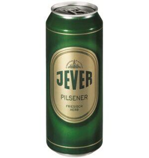 Jever Pilsener Friesisch Herb 4,9% Vol. 24 x 50 cl Dosen