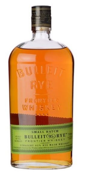 Whiskey Bulleit Straight Rye Kentucky Bourbon 45% Vol. 70 cl