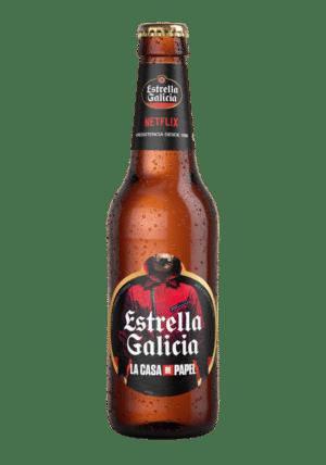 Estrella Galicia La Casa de Papel 5,5% Vol. 24 x 25 cl EW Flasche Spanien ( so lange Vorrat )