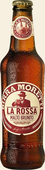 Birra Moretti La Rossa 7,2% 24 x 33 cl EW Flasche