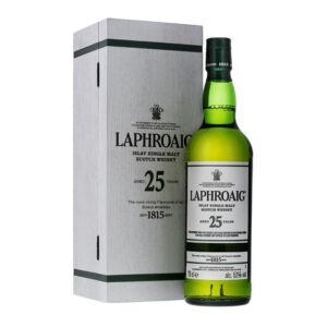 Laphroaig 25 Years Cask Strength Whisky 2018 52% Vol. 70 cl