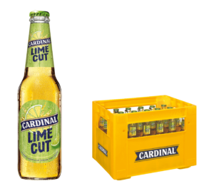 Cardinal LIME CUT 4,6% Vol. 24 x 33cl MW Flasche