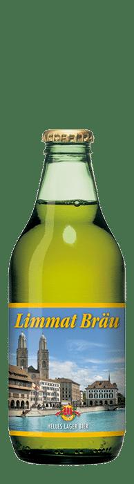 Müllerbräu Limmat Bräu 4,8% Vol. 20 x 33 cl EW Flasche
