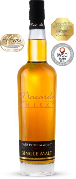 "Macardo Single Malt ""Distillers Selection"" Limited Edition 42% Vol. 70 cl Schweiz"