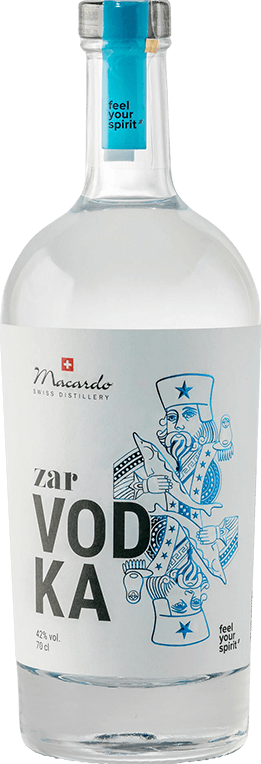 Macardo Zar Vodka 42% Vol. 70 cl Schweiz
