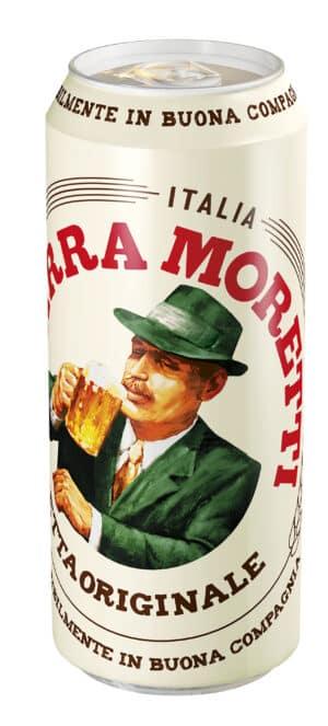 Birra Moretti 4,6% Vol. 24 x 50 cl Dose ( so lange Vorrat )