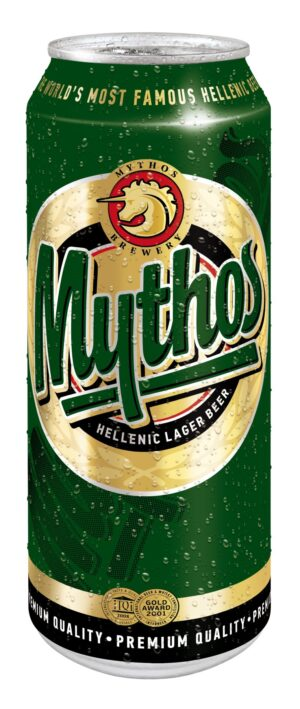 Mythos Lager hell 4,7% Vol. 24 x 50 cl Dose Griechenland