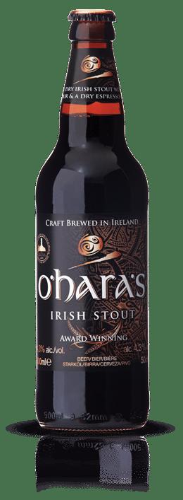 O'Hara's Irish Stout 4,3% Vol. 24 x 33 cl EW Flasche