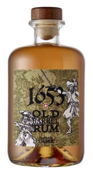 Studer 1653 Old Barrel Swiss Rum 44,8% Vol. 50 cl Schweiz