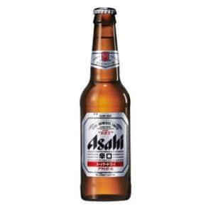 Asahi Super Dry 5% Vol. 24 x 33cl EW Flasche Japan