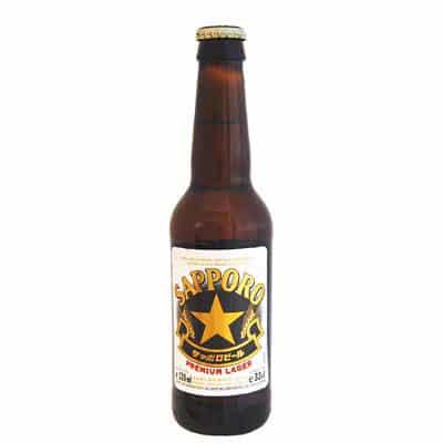 Sapporo Premium Beer 4,7% Vol. 24 x 33 cl EW Flasche Japan