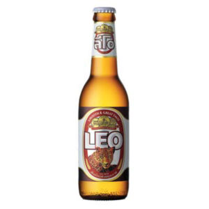 Leo Beer 5,0% Vol. 24 x 33 cl EW Flasche Thailand