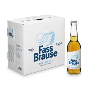 Lägere Bräu Fassbrause alkoholfrei 6 x 33 cl EW Flasche