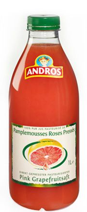 Andros Pink Grapefruitsaft 6 x 100cl Pet