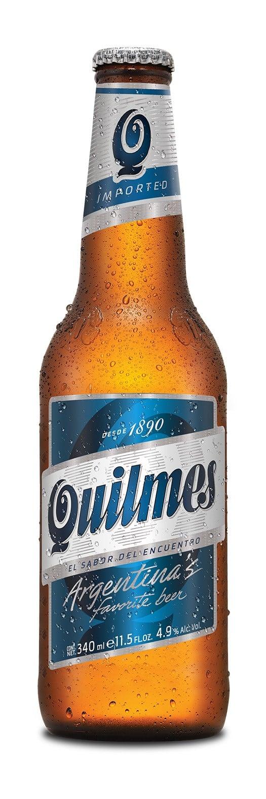 Quilmes Beer 4,9% Vol. 24 x 34 cl EW Flasche Argentinien