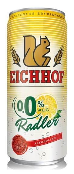 Eichhof Radler 0.0% 24 x 50 cl Dose