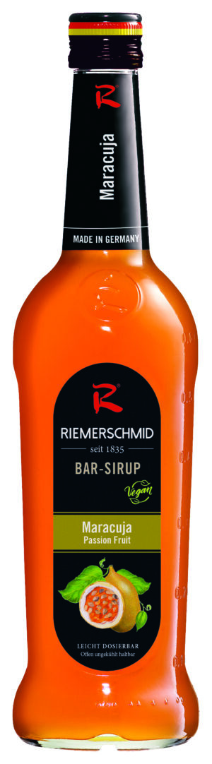 Riemerschmid Sirup Maracuja / Passion Barsyrup 70 cl