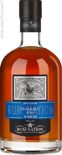 Rum Nation Panama 10 years 40% Vol. 70 cl Panama