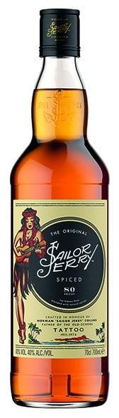 Sailor Jerry Spiced Caribbean Rum 40% Vol. 70 cl