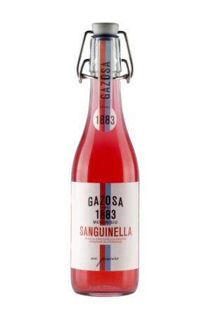 Gazosa 1883 Sanguinella ( Blutorange ) Mendrisio 20 x 35 cl MW Flasche