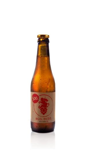 Soorser Bier soo echt Golden ALE 5,0% Vol. 24 x 33cl EW Flasche