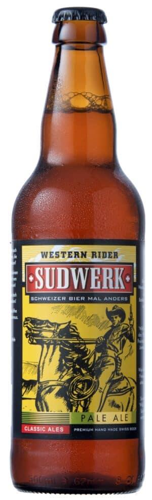 WESTERN RIDER – PALE ALE 5% Vol. 12 x 33 cl EW Flasche