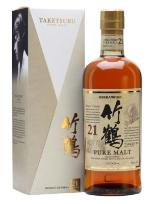 Nikka Taketsuru 21 Years Pure Malt Whisky 43% Vol. Japan (limitiert)