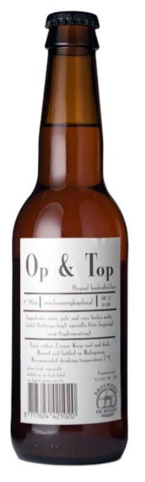 De Molen Op & Top 4,5% Vol. 24 x 33 cl EW Flasche