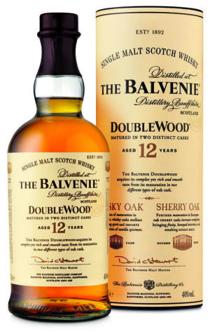 The Balvenie 12 Years Double Wood Malt 40% Vol. 70 cl (solange Vorrat)