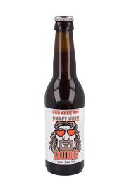 Bad Attitude La Dude India Pale Ale 7,1% Vol. 24 x 33 cl EW Flasche