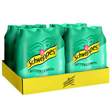 Schweppes Bitter Lemon 24 x 50 cl Pet