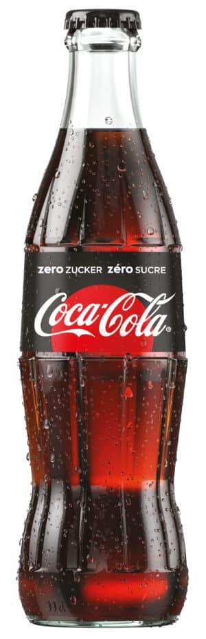 Coca-Cola ZERO 24 x 33 cl MW Flasche
