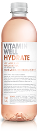 Vitamin Well Hydrate 12 x 50 cl PET