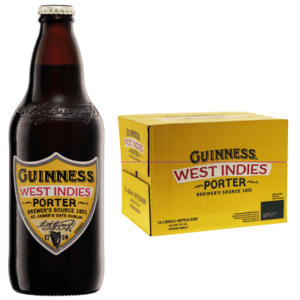 Guinness West Indies Porter 6,0% Vol. 12 x 50 cl EW Flasche