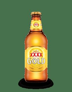 XXXX Australien beer 6 x 37 cl EW Flasche