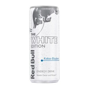 Red Bull white Edition Kokos Heidelbeeren 24 x 25cl Dose
