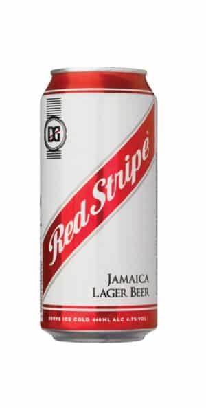 Red Stripe Beer of Jamaica 4,7% Vol. 24 x 56,8 cl Dose Jamaica