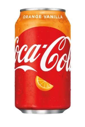 Coca Cola Orange / Vanilla 24 x 35,5 cl Dose