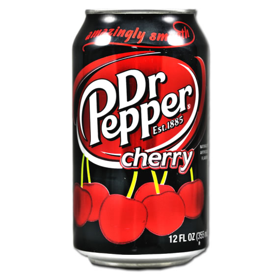 Dr. Pepper Cherry 24 x 35,5 cl Dose