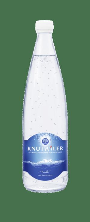 Knutwiler Mineral mit Kohlensäure 12 x 75 cl MW Flasche