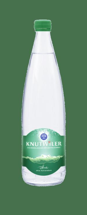 Knutwiler Mineral ohne Kohlensäure 12 x 75 cl MW Flasche
