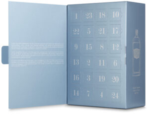 Gin Adventskalender 40.0 bis 57.7% Vol. 24 x 2 cl