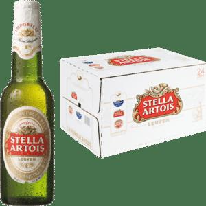 Stella Artois Leuven 5% Vol. 24 x 33 cl EW Flasche Belgien