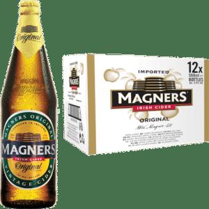Magners Original Cider 4,5% Vol. 12 x 56,8cl EW Flasche Irland
