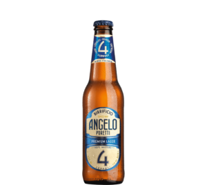 Birrificio Angelo Poretti no 4 Lupolli 5,5% Vol. 24 x 33 cl EW Flasche Italien