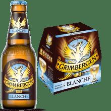 Grimbergen blanche 6,0% Vol. 25 cl EW Flasche Belgien