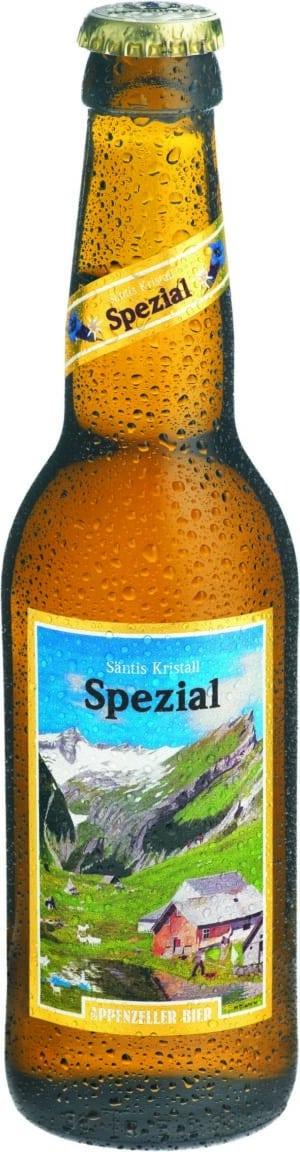 Appenzeller Säntis Kristall spezial 33 cl MW Flasche
