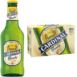 Cardinal Blanche 4,8% Vol. 10 x 33cl EW Flasche