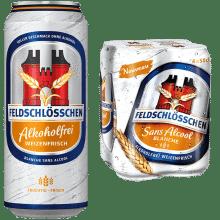 Feldschlösschen Alkoholfrei Weizenfrisch 0,5% Vol. 24 x 50cl Dose